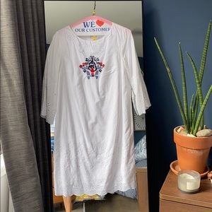 Suno size 2 white dress